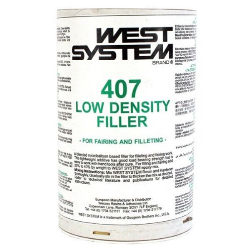 West Epoxy 407 Low-Density Filler for Fairing Brown in Colour